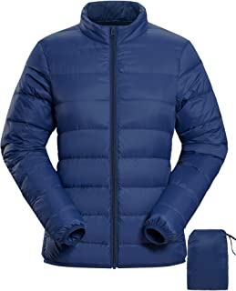 Ladies Fitted Winter Padded Waterproof Coat Womens Puffer Jacket in Sizes S,M/&L