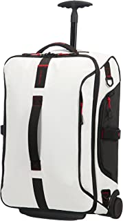Samsonite Paradiver Light Duffle with wheels 55/20 Strictcabine, 55 cm, 48,5 L, White
