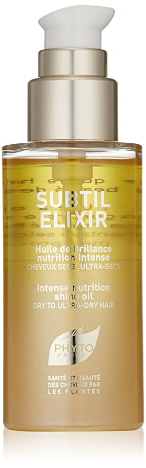 暗殺するテレビ即席Phyto Subtil Elixir Intense Nutrition Shine Oil for Unisex, 70ml