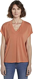 Tom Tailor Basic T-Shirt Camiseta para Mujer