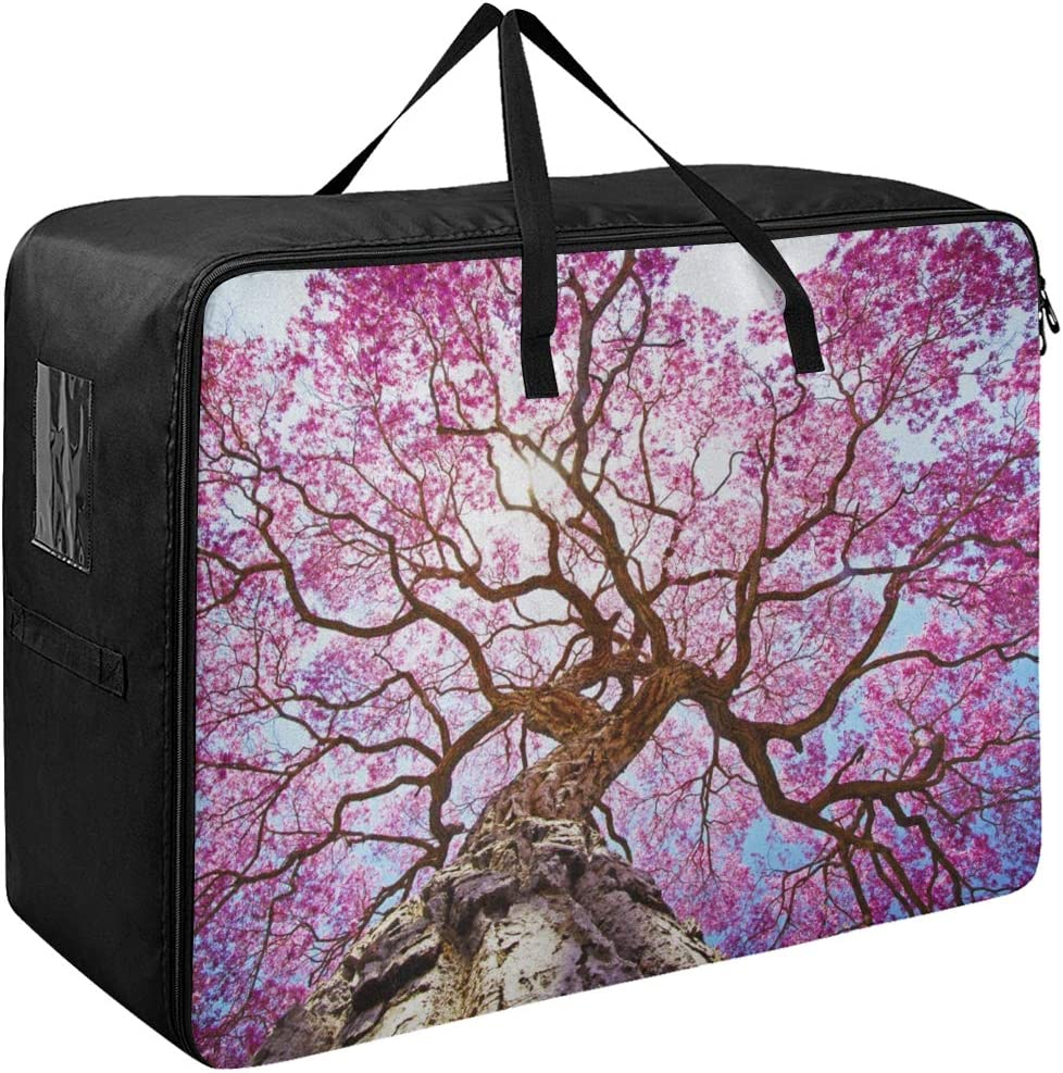 Classic Liaosax Garment Bags for Men Beautiful Rapacho Large Pink Indefinitely Trees