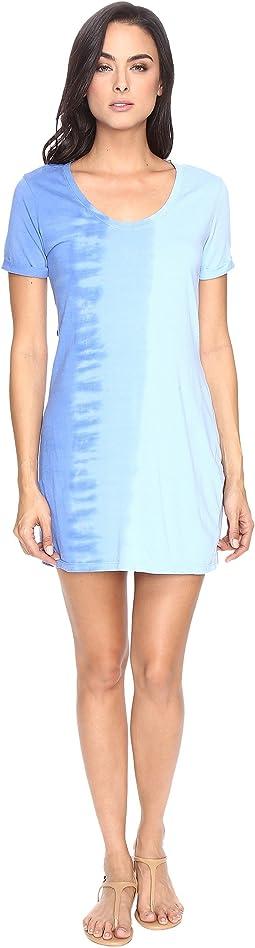 Riverwash Short Sleeve Dress with Back Twist