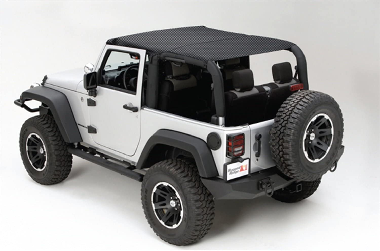 Rugged Ridge 13579.13 Island overseas Top Jeep Black; Mesh Trust Wrangl 10-18