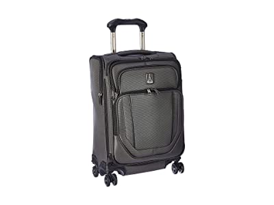 Travelpro 21.5 Crew Versapack Global Carry-On Expandable Spinner (Titanium Grey) Luggage