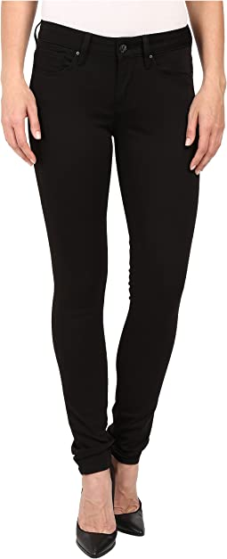 Alexa Mid-Rise Super Skinny in Jet Black
