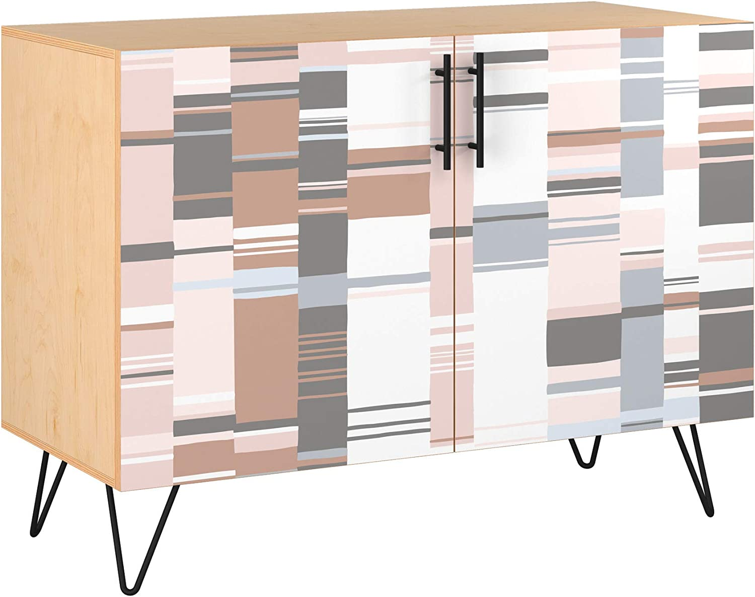 Poppy Credenza - Natural Sadie Max 51% OFF Design 5 Colors in Styl Regular discount 11 Base