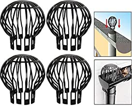Massca Down Pipe Gutter Balloon Guard Filter Strainer - Pack of 4
