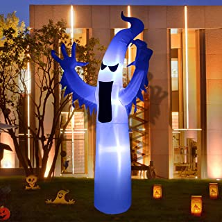 LAOSSC Halloween Inflatable Ghost Halloween Decorations for Indoor and Outdoor - Lanterns Lighted Holiday Home Décor (9 Foot Ghost)
