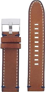 Diesel LB-DZ4470 Bracelet de montre de rechange en cuir Marron 22 mm