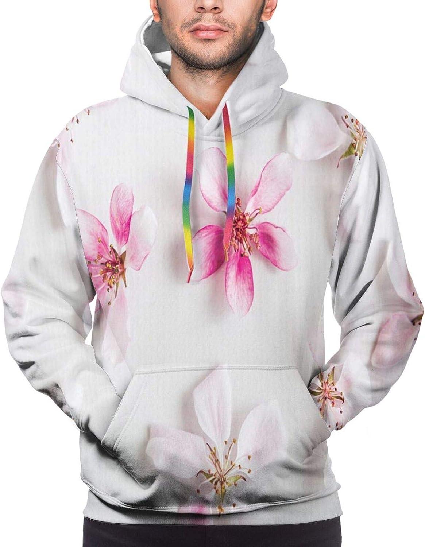 Men's Hoodies Sweatshirts,Love The Vegan Diet Theme Graphic Design with Smiling Carrots On Words