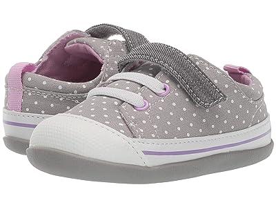 See Kai Run Kids Stevie II (Infant/Toddler) (Gray Dots) Girl