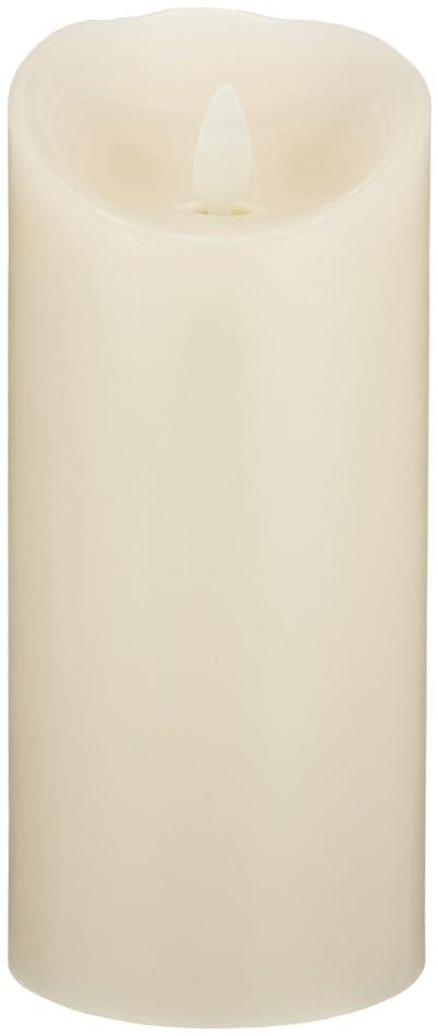 コントラストトチの実の木ずんぐりしたLUMINARA(ルミナラ)ピラー3×6【ギフトボックスなし】 「 アイボリー 」 03070020IV