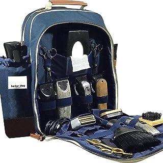 Barber Backpack Makeup Tool Bag Artist Portable Travel Multifunction Backpack Cosmetic Organizer Box Waterproof Storage Ba...