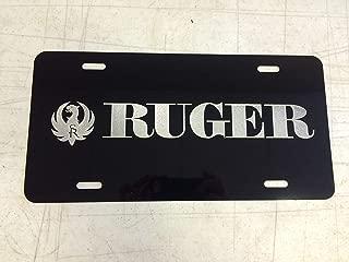maitongzaix Ruger Car Tag on Aluminum License Plate