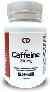 One Brand Nutrition Caffeine Pills 200mg Bonus Size (120 Tabs) | Promote Alertness & Wakefulness