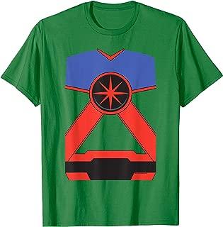 Justice League Martian Manhunter Uniform T Shirt T-Shirt