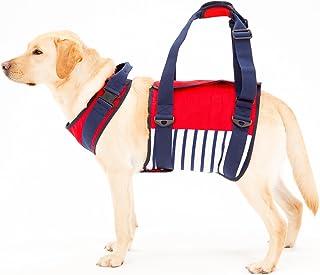 ララウォーク 歩行補助ハーネス 大型犬用 マリン Mサイズ