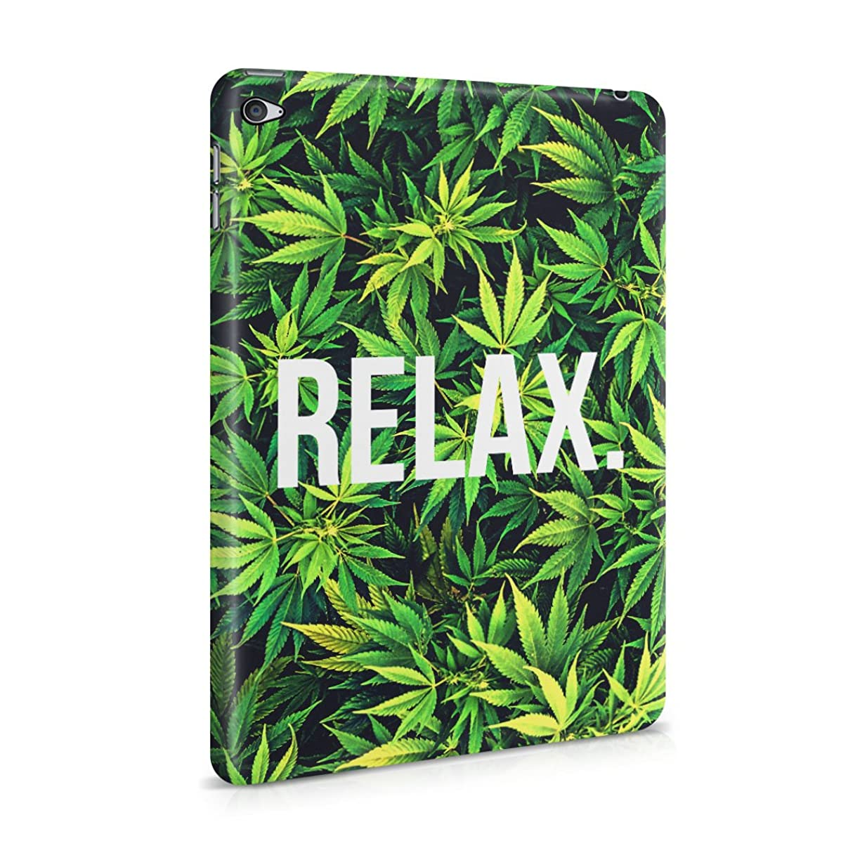 Relax Cannabis Leaves Pattern Plastic Tablet Snap On Back Cover Shell For iPad Mini 4