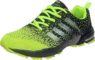 wealsex Chaussures De Course Basket Running Compétition Sport Trail Entraînement Homme Femme Fitness Tennis Sneakers 35-46