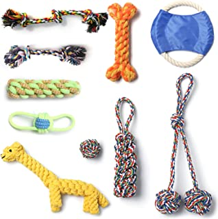 Puppies Teething Aggressive set Indestructible Toys Puppy