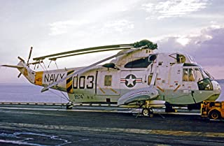 Home Comforts of Helicopter Combat Support Squadron 2 (HC-2) Det. 66 Fleet Angels Aboard The Aircraft Carrier U Vivid Imagery Laminated Poster Print 24 x 36