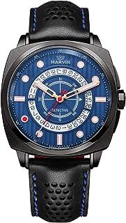 スイス ルミナス クォーツ 腕時計 ラグジュアリー スポーツ 腕時計 日付表示付き ブルー