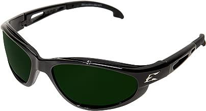 Edge Eyewear SW11-IR5 Dakura Safety Glasses, Black with Light Welding IR 5.0 Lens