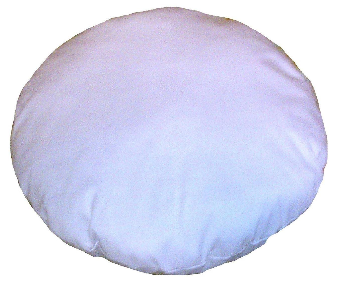 Third Eye Export Home Decor Pillow Cushion Meditation Seating Ottoman Throw Suffer Pouf … (White, 32 Inches Round)