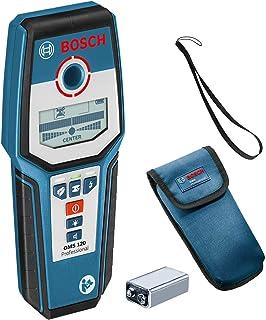 Bosch Professional GMS 120 - Detector de Pared  (detección máx. en madera/metal magnético/metal no magnético/cables con tensión: 38/120/80/50 mm, en caja)