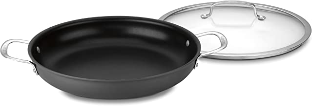 Cuisinart 6425-30D Contour Hard Anodized 12-Inch Everyday Pan with Cover