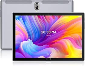 Tablet 10.1 Inch Android 10.0 4G Phone Tablets with 4G RAM, 64GB Storage, Dual Sim Card Slot, 13MP Camera, WiFi, Bluetoot...
