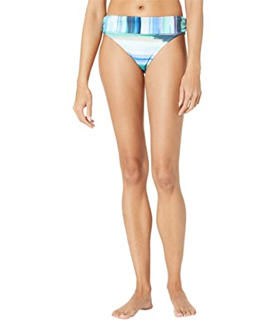 La Blanca Ocean Tides Shirred Band Hipster (Pacific Blue) Women
