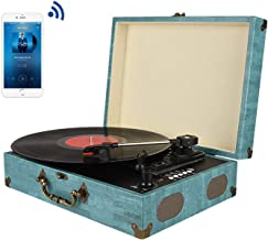 Best tiffany blue record player Reviews
