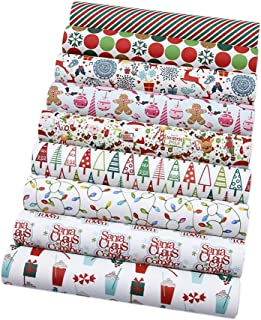 David Angie Christmas Theme Printed Synthetic Leather 9 Sheets 8