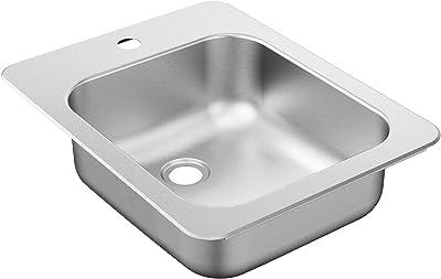 Moen G204571BQ 2000 Series Sink, Brushed/Satin Stainless
