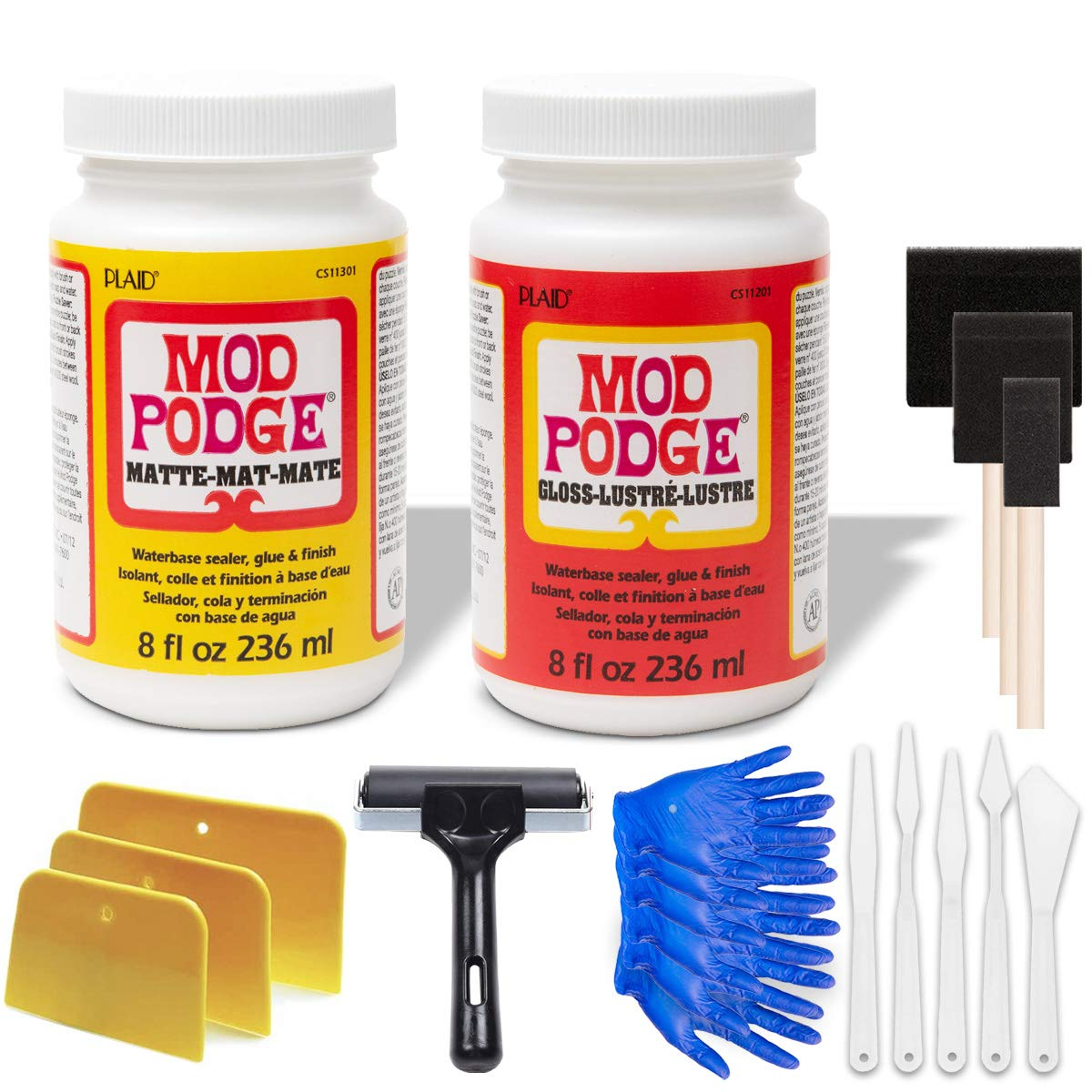 Mod Podge Bundle 8 Ounce Gloss Matte Waterproof Medium and security Ranking TOP5 Seal