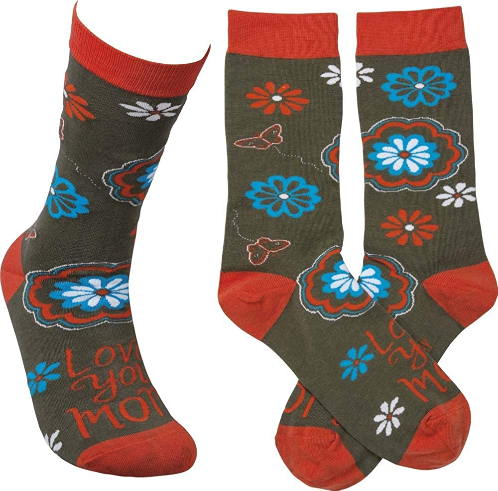 Primitives By Kathy Love Socks You Mom Max 52% OFF Limited time cheap sale