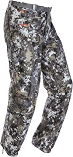 SITKA Gear Men's Tall Size Downpour Waterproof Articulated Camo Hunting Pants