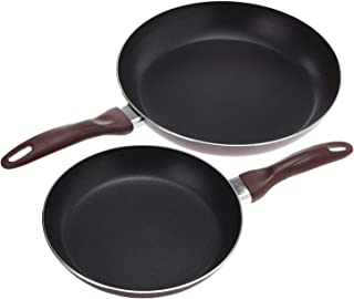 Royalford Non Stick Frying Pan, Twin Pack, Non-Stick Fry Pan Set. Non-Stick Cookware, Value Dual Fry Pan Set