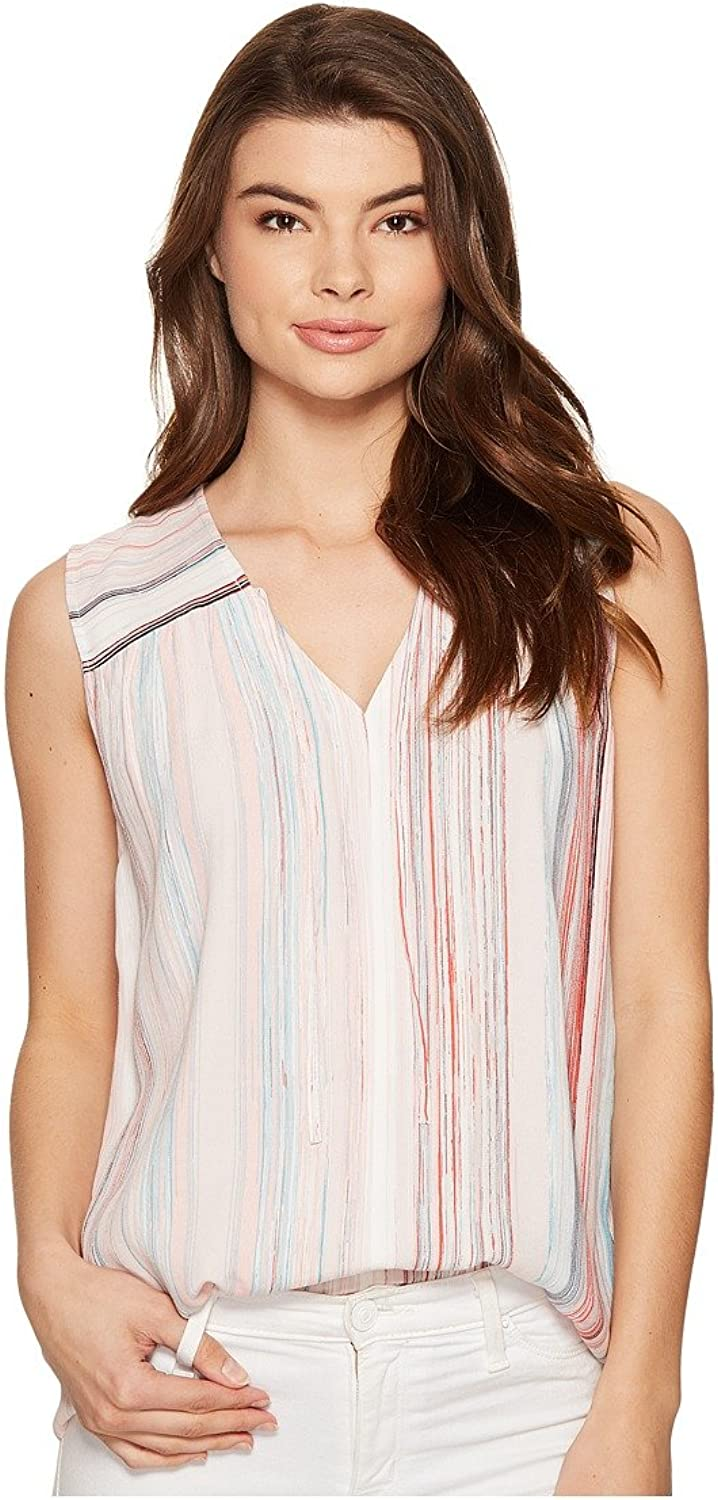 1.STATE Womens Blouse w  Front Tie