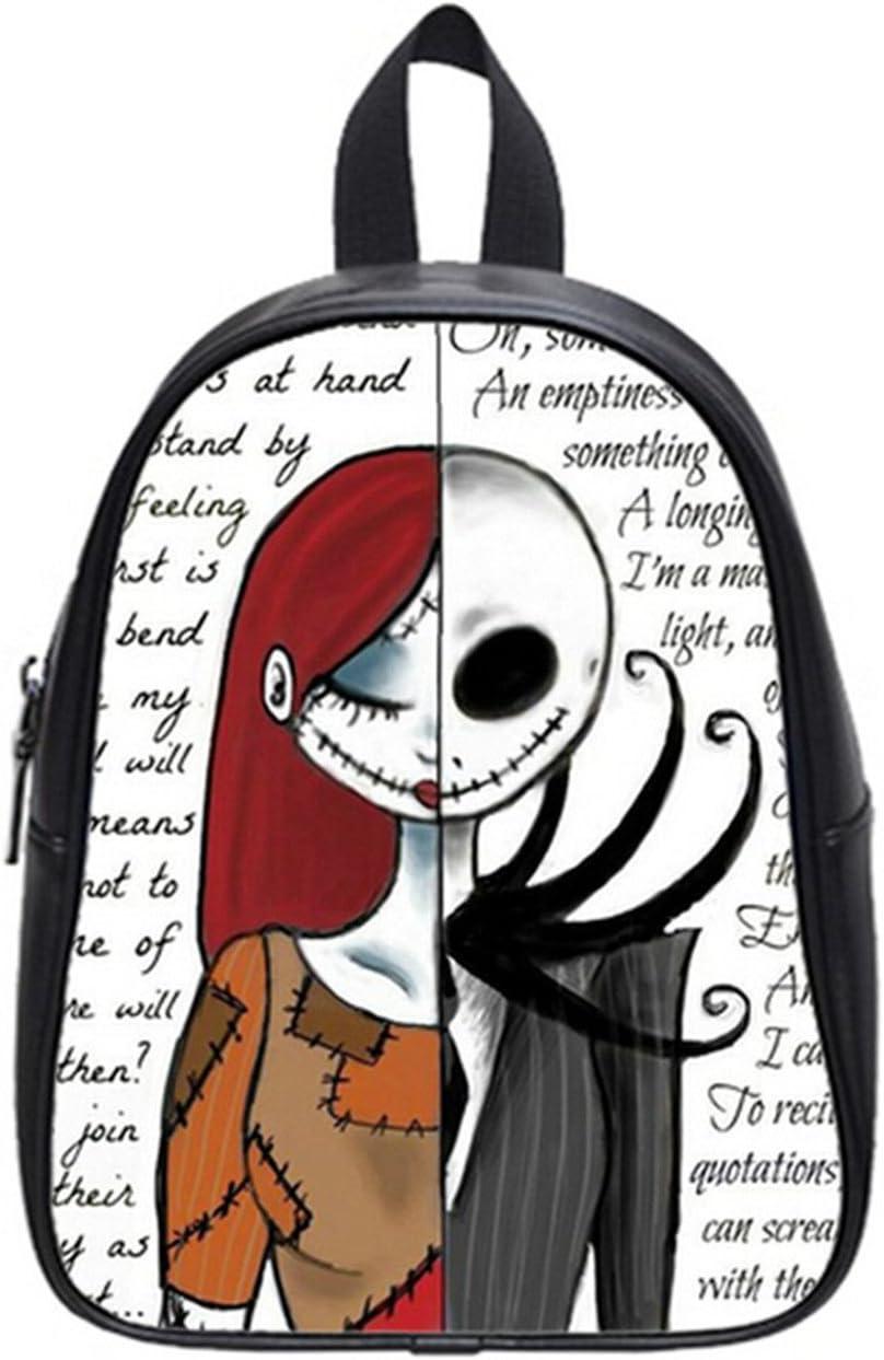 Ranking TOP13 Soft PU Over item handling ☆ Backpack School Bag Jack Travel Pattern- Skellington