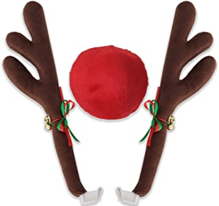 light up reindeer antlers for car