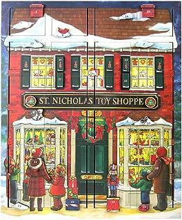 Byers' Choice St. Nick's Toy Shoppe Musical Advent Calendar #MC16