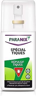 Paranix Répulsif Spécial Tiques – Anti Tiques – Protection 8 H – Spray 90ml