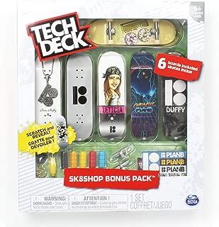 Tech Deck Plan B Skateboards Sk8shop Bonus Pack with 6 Fingerboards