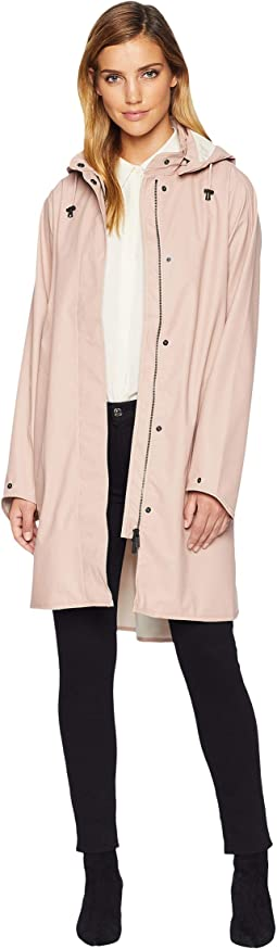 Lightweight True Rain Loose Fitting Trench Coat