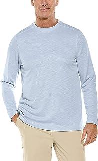 Coolibar UPF 50+ Men's Long Sleeve Baja T-Shirt - Sun Protective