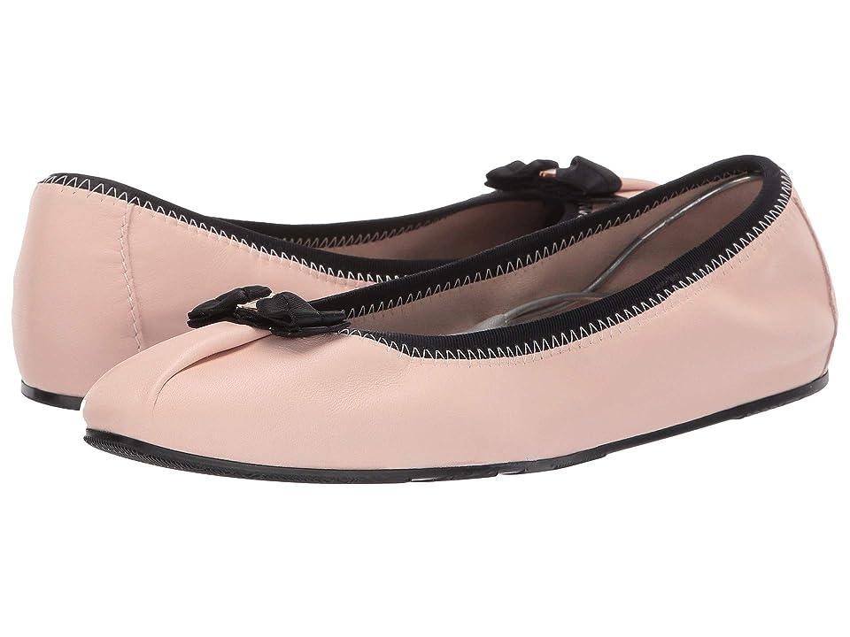 6dab39fc949 Salvatore Ferragamo Joy Ballet Flat (Bon Bon Nappa Guanto) Women s Flat  Shoes