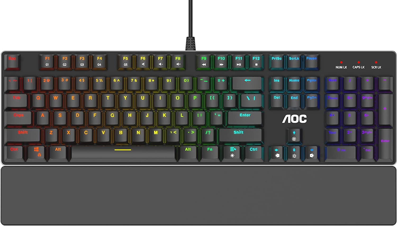 AOC GK500 RGB Mechanical Gaming Keyboard