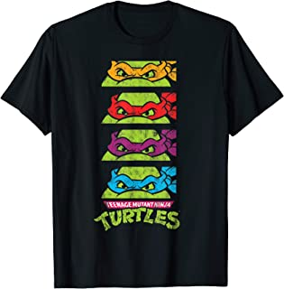 TMNT All Characters With Masks  T-Shirt
